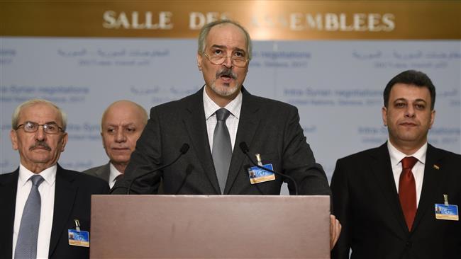 'Toppling Assad Washington's long-term objective'
