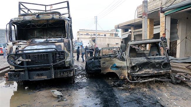 Daesh bombings kill 15 in northern Syria