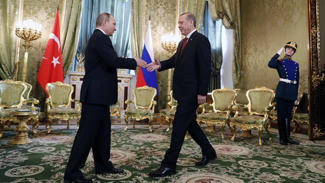 Putin lauds close Russo-Turkey ties over Syria