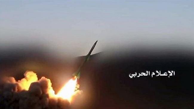 Yemenis fire new ballistic missiles at Saudi base