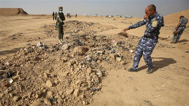 Daesh buried hundreds in Mosul mass grave: HRW