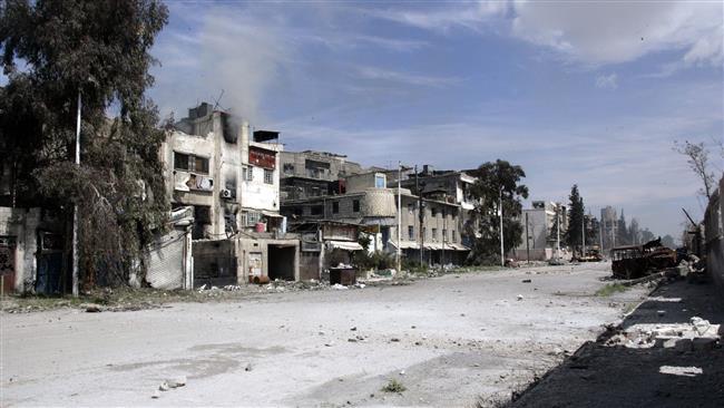 Fighting near Damascus ahead of Geneva talks