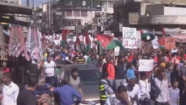 Jordanian protesters urge government to scrap gas deals with Israel