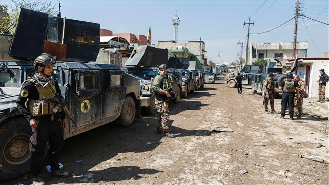 Iraq denies forces halting operation in western Mosul