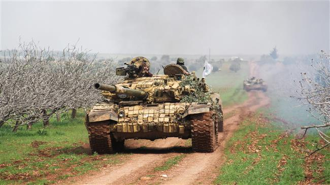 'Some 40k Syrians displaced in Hama clashes'