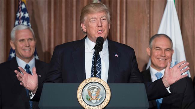 Trump rolls back Obama climate policies