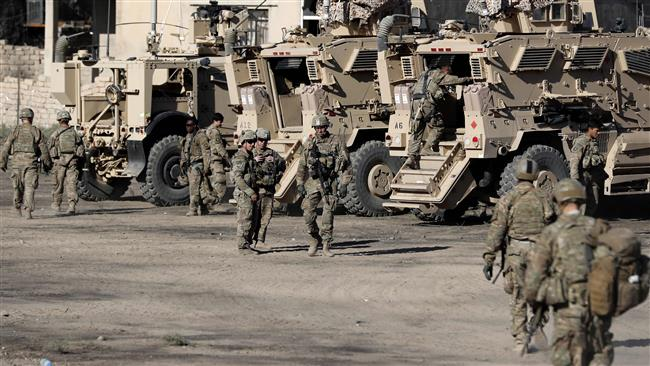 US president says troops doing 'very well' in Iraq