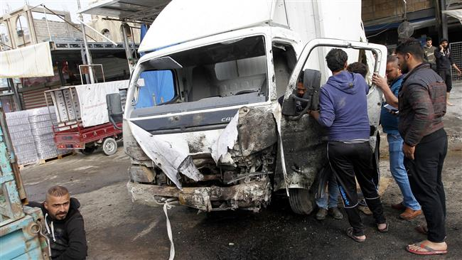Truck blast claims 17 lives in southern Baghdad