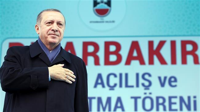 I am guardian of peace: Erdogan to Kurds