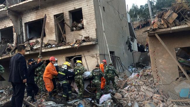 Explosion kills nine in northern China