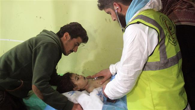 Syria strongly denies role in Idlib 'chemical' attack