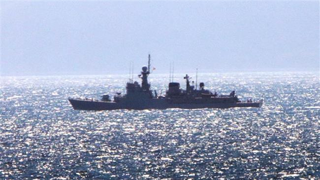 UK Navy chases Spanish warship out of Gibraltar