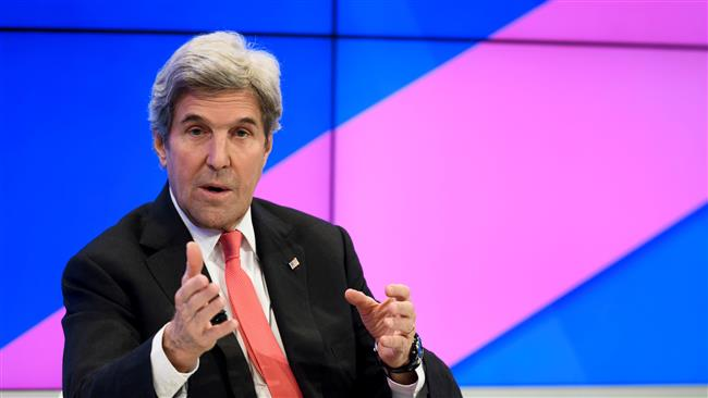 'Kerry supportive of military action in Syria'