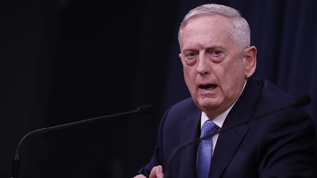 Trump's Mad Dog repeats anti-Syria claims