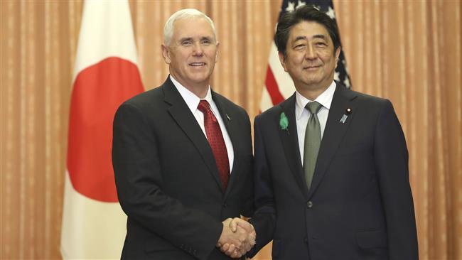 Japan urges 'peace, pressure' in North Korea row