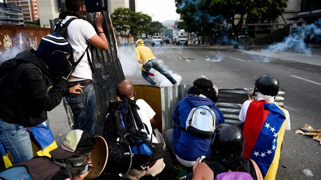 EU urges calm in Venezuela amid protests