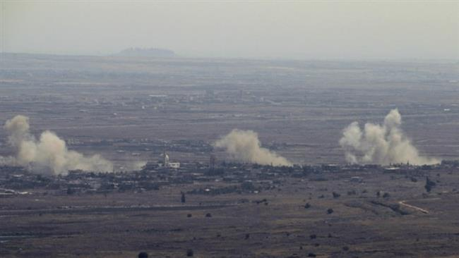 Israeli jets attack Syria's Golan Heights
