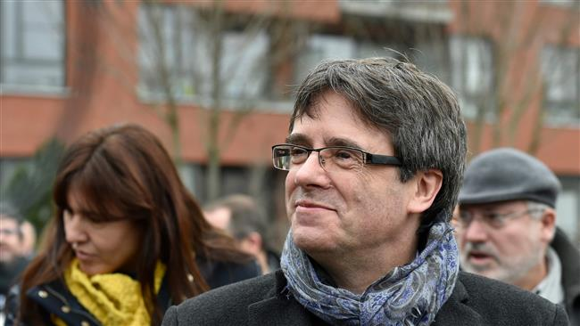 Ex-Catalan leader says can govern from Belgium