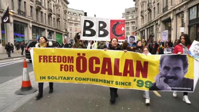 Protesters urge British media to speak up over Afrin