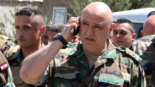 Lebanon army says ready to confront Israeli aggression