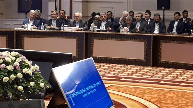 Iran, Russia, Turkey 'committed' to Syria territorial integrity