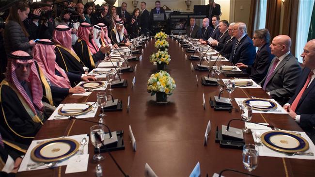 Trump hails Saudi 'friendship' in meeting with bin Salman