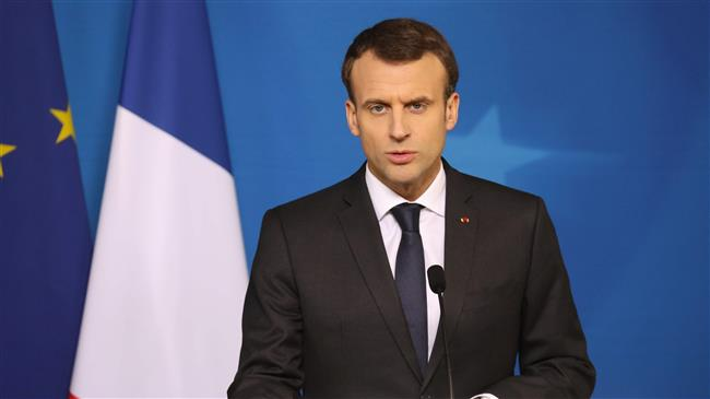 Macron 'concerned' over Turkish offensive in Afrin