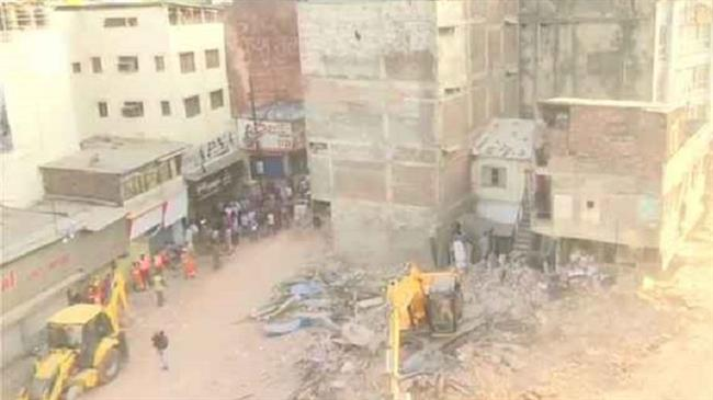 Hotel collapses in India, 10 killed