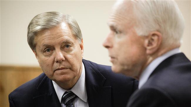 'Graham and McCain are operatives of Deep State'
