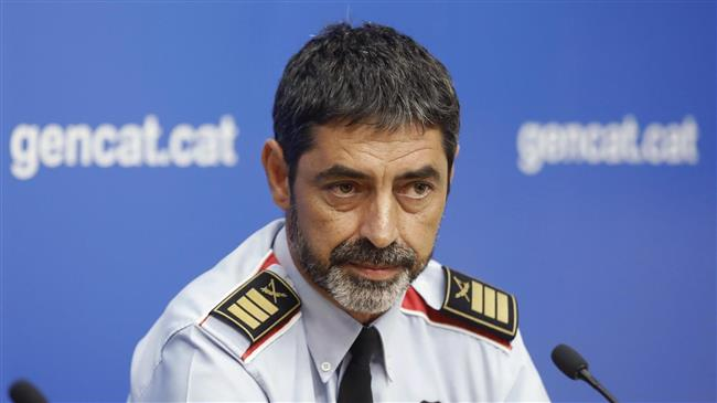Spain charges ex-Catalan police chief with sedition