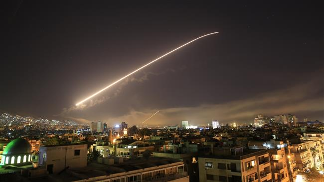 Syria under military attack on Trump's orders