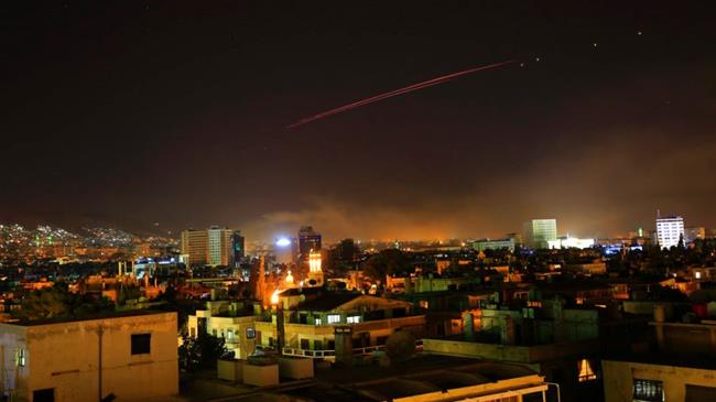 'US-UK-French attack on Syria a publicity stunt'
