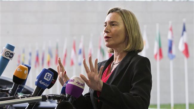 Keeping JCPOA in place vital for EU: Mogherini