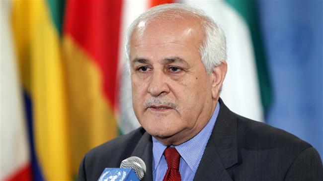 Palestine UN envoy calls for probe into Israeli crimes