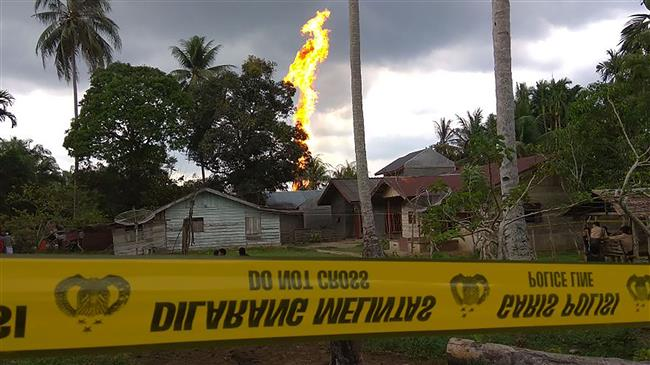 10 Killed, dozens injured in Indonesia oil well fire
