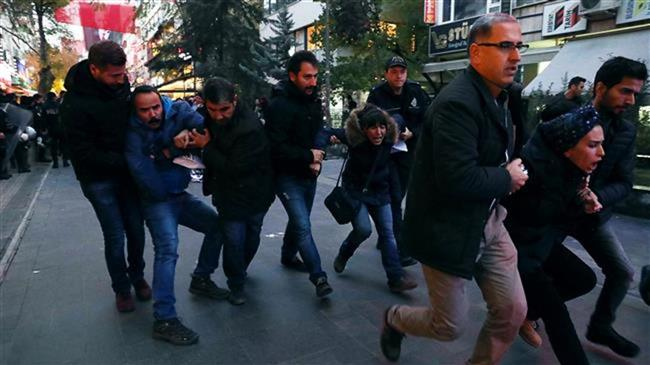 Ankara accused of creating 'climate of fear' after coup bid