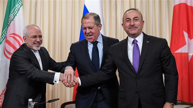 Iran, Russia, Turkey to boost Syria settlement efforts