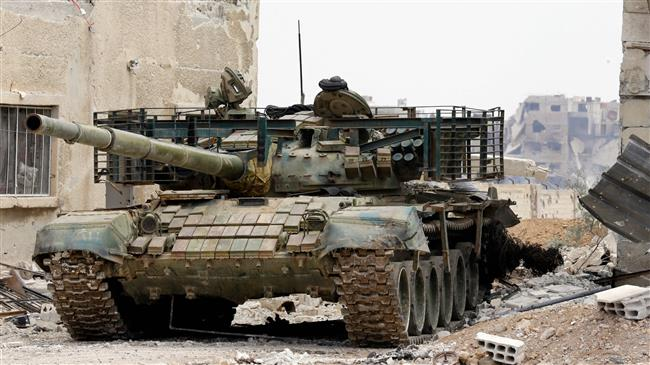 Syrian army advances in southern Damascus