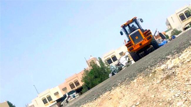 Bahraini regime bulldozes reconstructed Shia Mosque