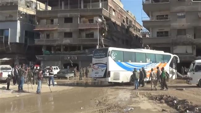 Militants agree to leave Yarmouk Camp in S Damascus