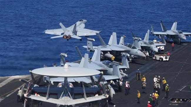 'US, not China, militarizing South China Sea'