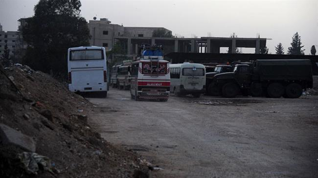 Terrorists flee Syrian towns south of Damascus