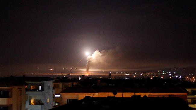 Syrian army says destroyed most of Israeli rockets