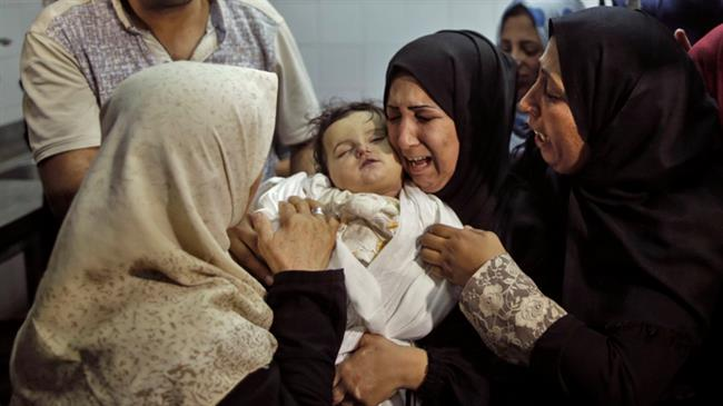 Palestinian baby smallest victim of US embassy move