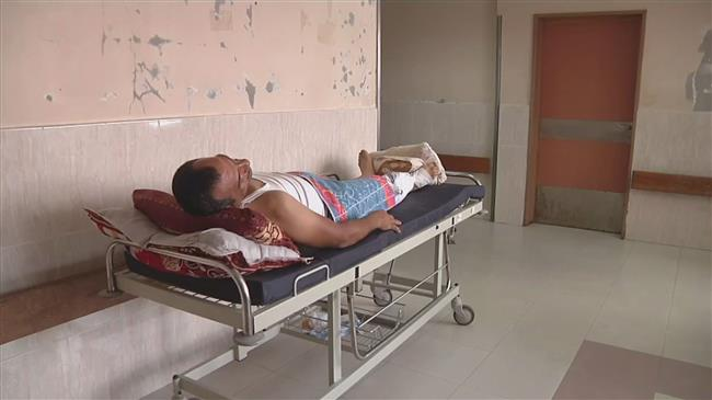 Gaza hospitals overwhelmed by large number of injuries