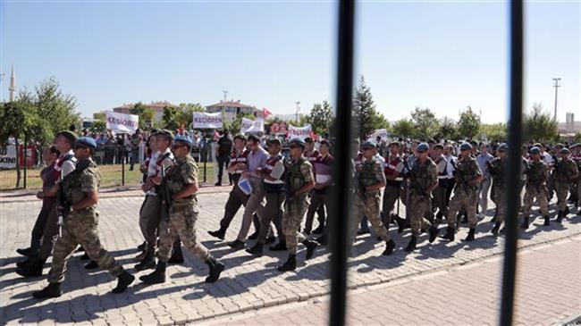 'Turkey issues arrest warrants for 101 air force personnel'