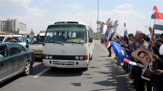 Syria war: Damascus-Homs highway reopens after 5 yrs