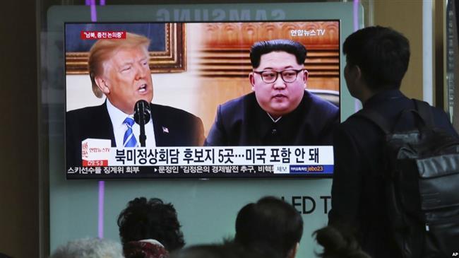 Trump threatens Kim with same fate as Gaddafi