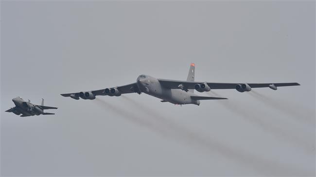 US scraps B-52 bomber drill amid N Korea threats
