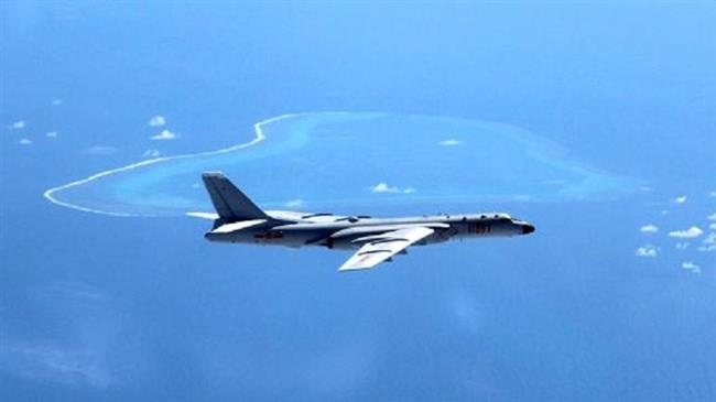 China lands bombers on South China Sea island